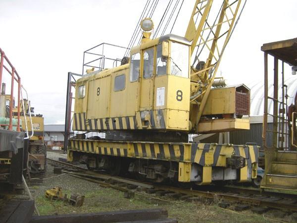 U.S. Navy 40 Ton Crane REDUCED