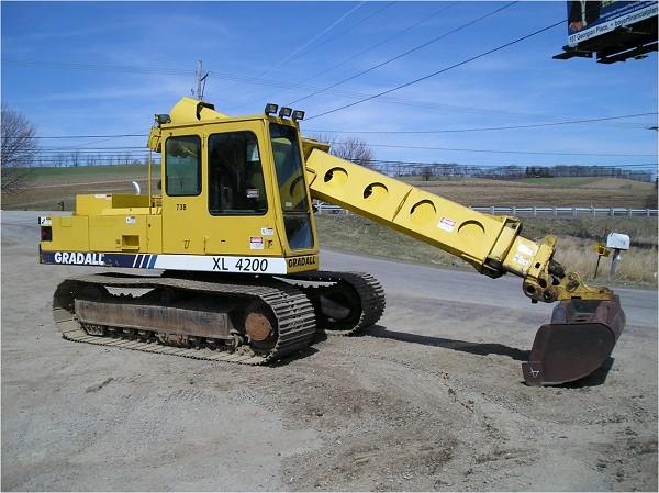 1995 GRADALL XL4200