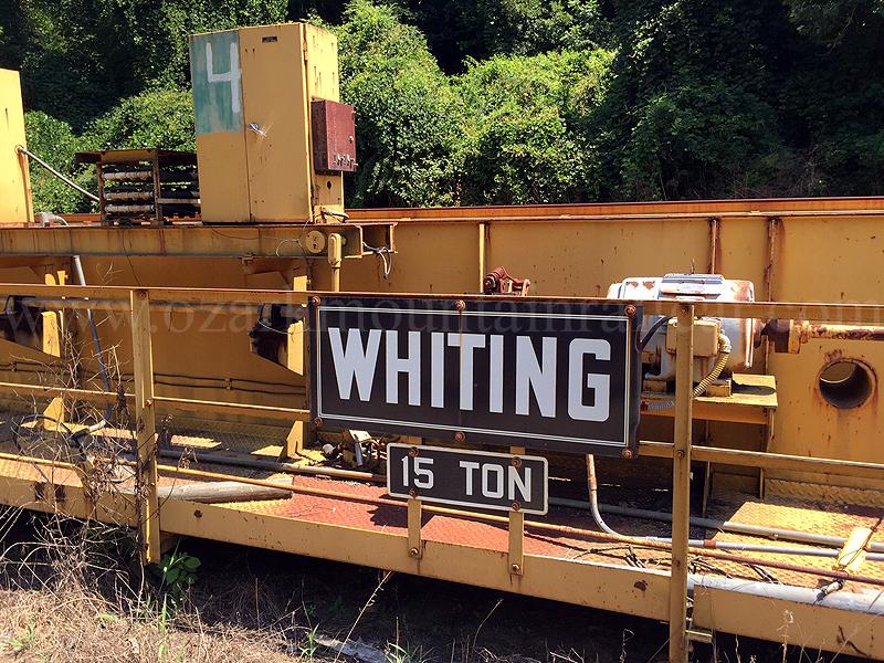 15 Ton Whiting Overhead Crane