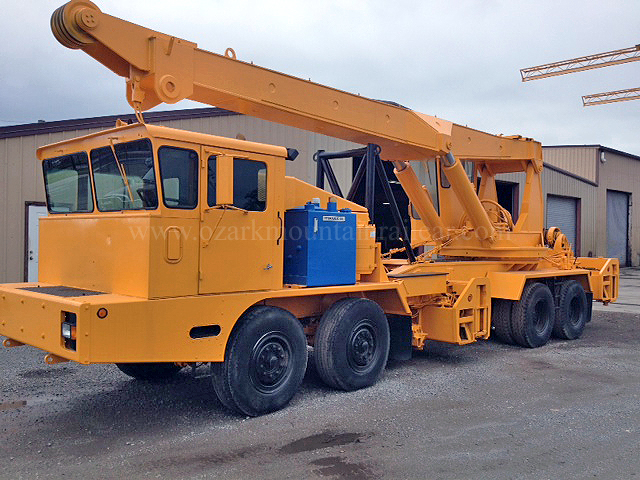 1998 Kershaw RCH85 Hy Rail  Mobile Wrecking Crane