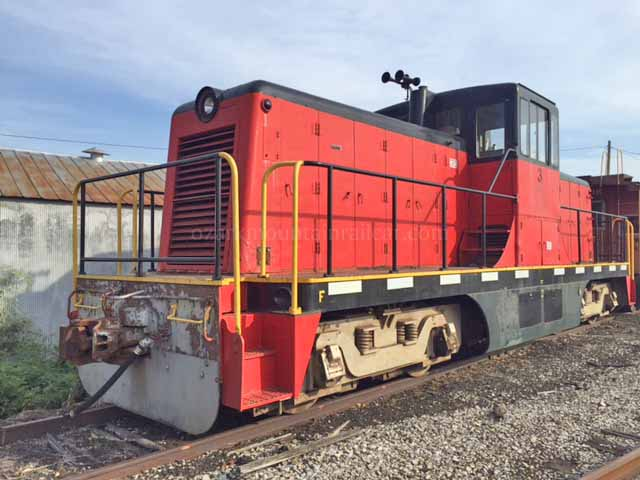 General Electric 80 Ton Center Cab Locomotive