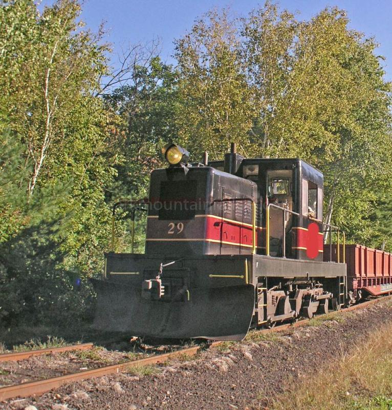 Porter 50 Ton Center Cab Locomotive #29