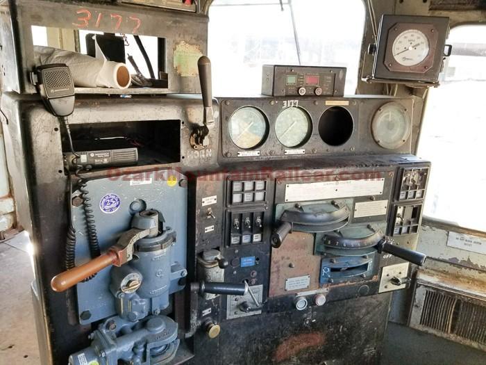 General Electric B23-7 Locomotive #3177