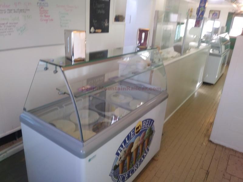 Ice Cream Parlor Caboose