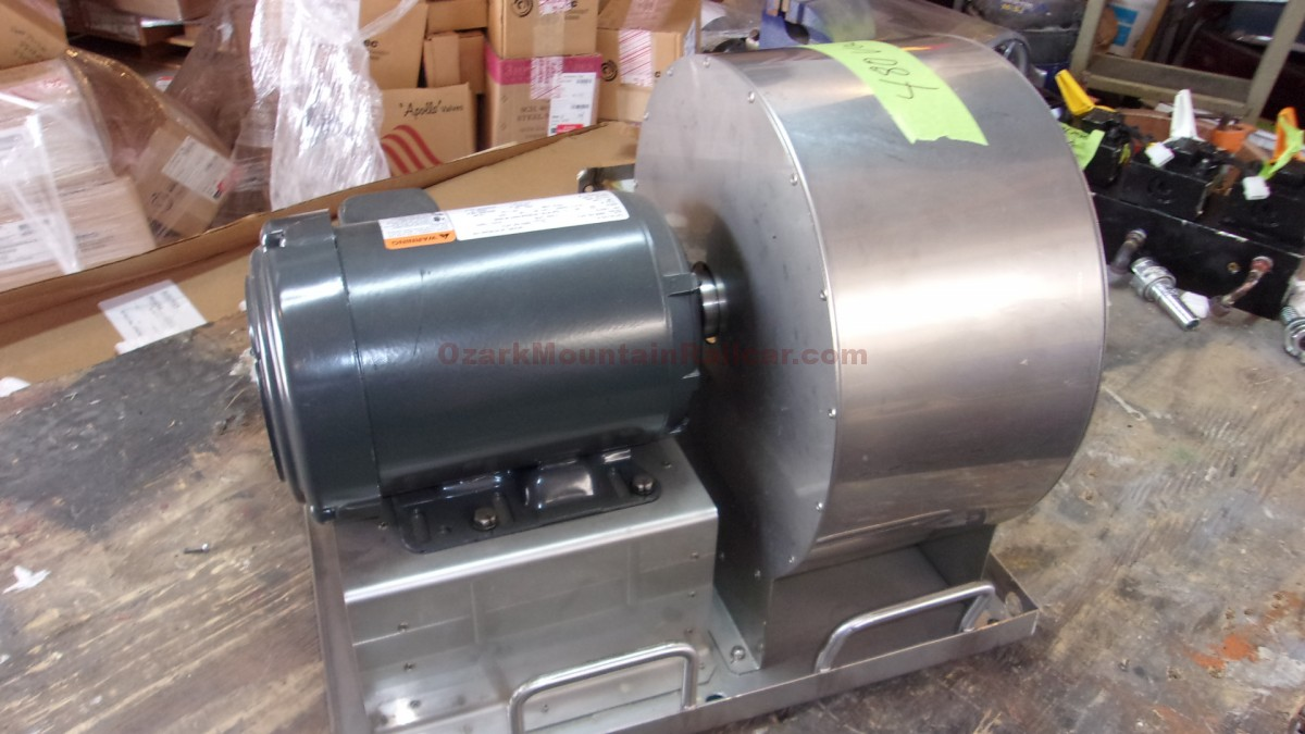 480v Exhaust/Supply Squirrel Cage Blowers