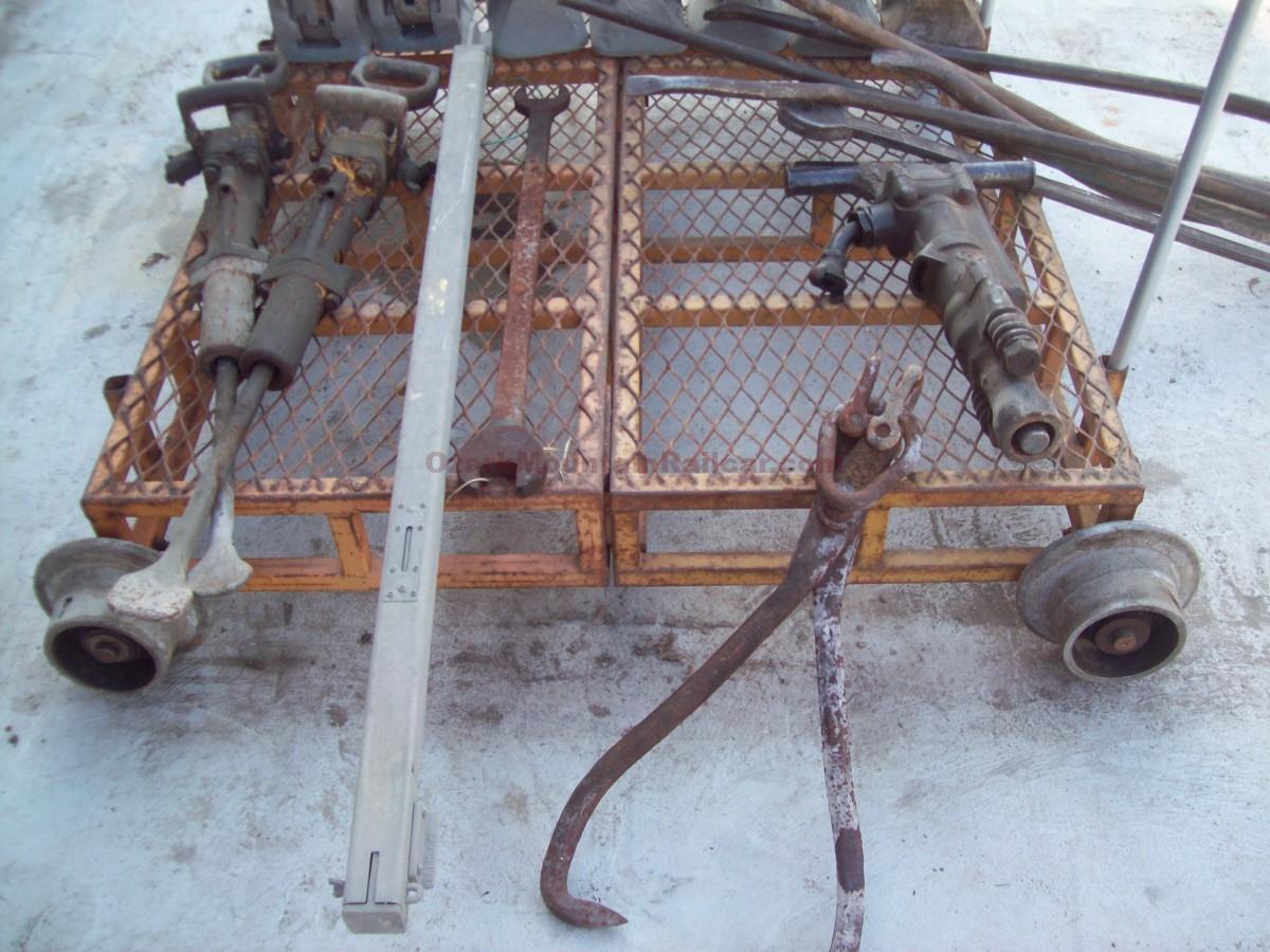 Track Cart & Tools