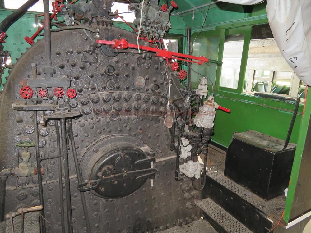 Florida East Coast Steam Locomotive #113