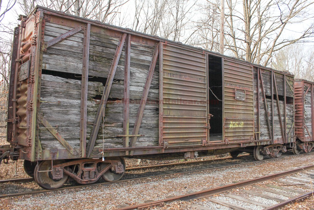 Wood Outside Braced Boxcar #2