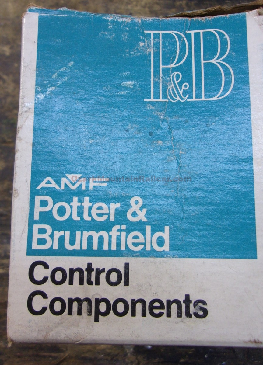 Potter & Brumfield Contactors ( 1 lot of 3)