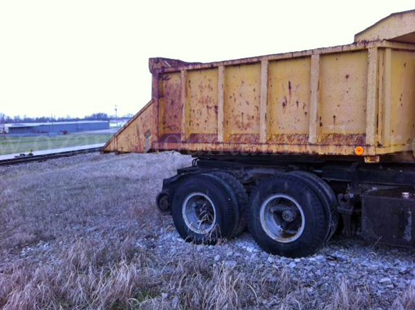 GMC Rotating Dump Hy Rail Truck REDUCED – Ozark Mountain Railcar