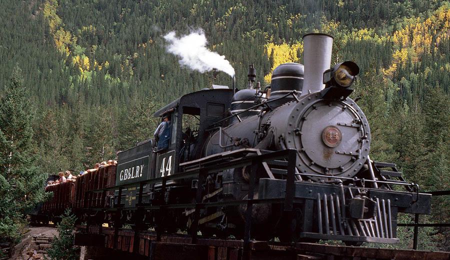Baldwin Narrow Gauge Locomotive #44 – Ozark Mountain Railcar